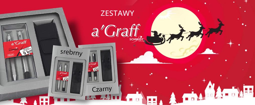 swieta_2017_tomacompl_Zestaw pióro i długopis A'Graff