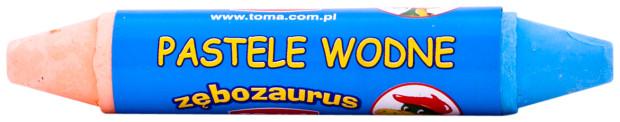 TO-587 pastele wodne_zębozaurus_1szt